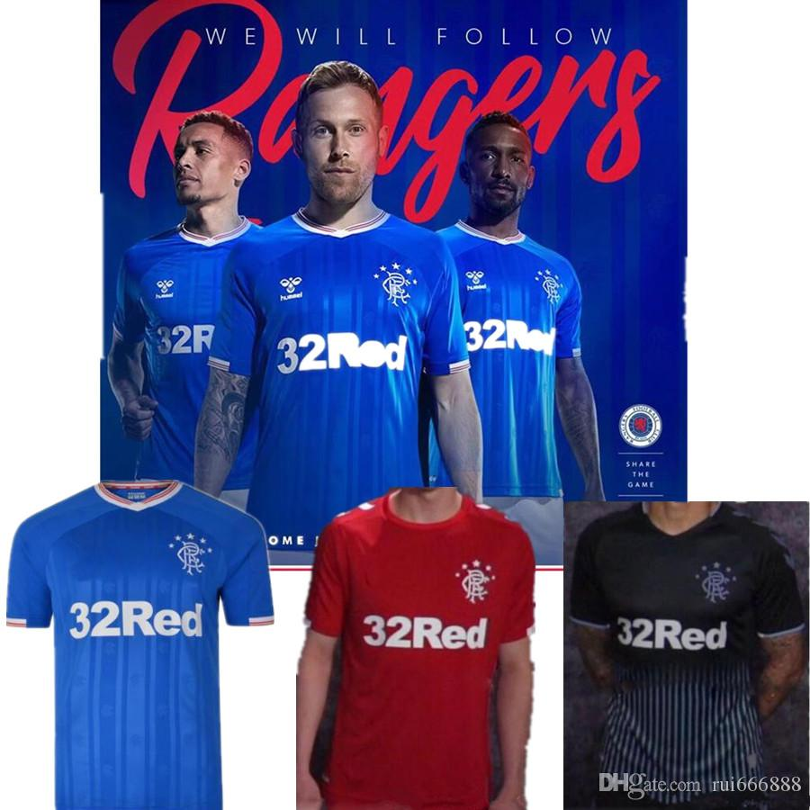 new product b3700 01976 new 19 20 Glasgow Rangers soccer jerseys home away 3rd 2019 2020 Katic  Arfield Goldson Morelos Davis TAVERNIER KENT jersey football shirt
