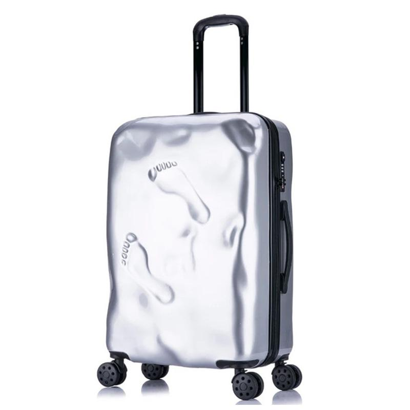 06af230d9 Rolling Spinner Luggage Travel Suitcase Women Trolley Case With Wheels  20inch Boarding Carry On Travel Bag Trunk Retro Suitcase Handbags Bags From  Juiccy, ...