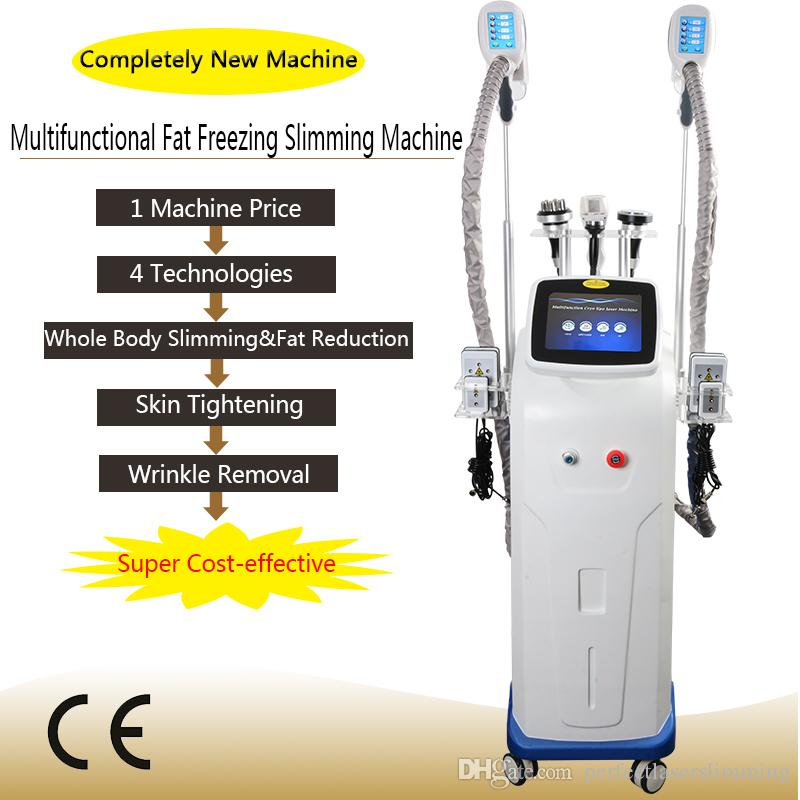 Cryo Fett Einfrieren Maschinenkörper Abnehmen Kavitation RF Fettabsaugung cyolipolysis abnehmen Maschine Laser Cryo Cellulite Reduktion Fett Einfrierens