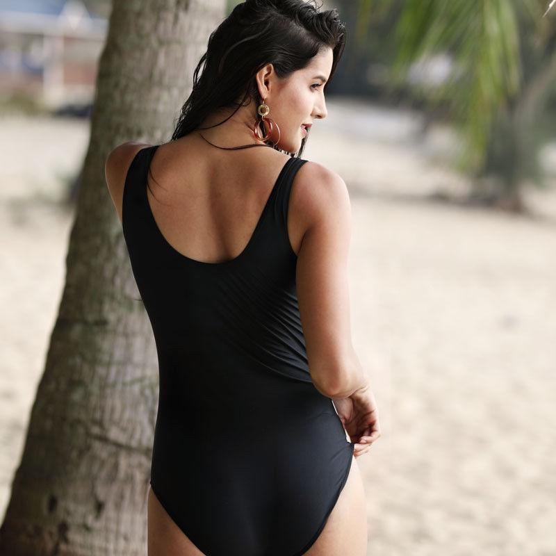 New Women One-Piece Swimsuits Flower Printed Plus Size Women Swimwear Padded Bikinis Monokini Women Beachwear Bather S-2XL