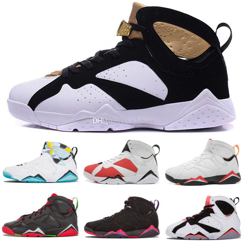 8c87416ae54897 Cheap 7 Basketball Shoes Men 7s VII Purple UNC Bordeaux Olympic Panton Pure  Money Nothing Raptor N7 Zapatos Trainer Sport Shoe Sneaker Shoes Sports  Sports ...