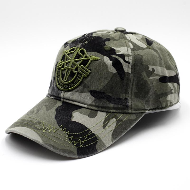 76723bd5f2351 Army Camouflage Camo Cap Spring Summer Mens Cadet Casquette Desert ...