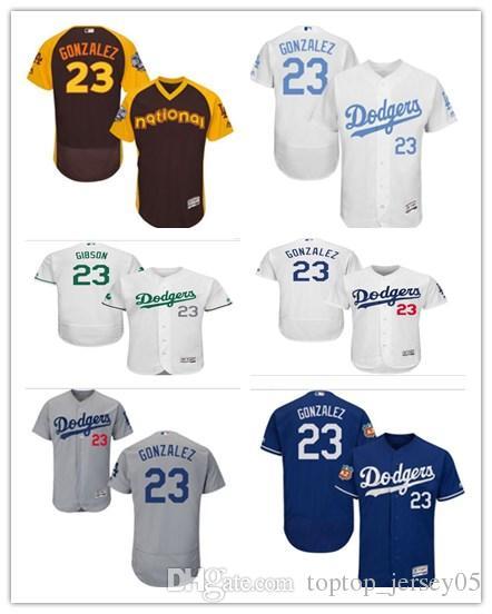 9dae17e7bf0 2018 Los Angeles Dodgers Jerseys #23 Adrian Gonzalez Jerseys  men#WOMEN#YOUTH#Men's Baseball Jersey Majestic Stitched Professional  sportswear