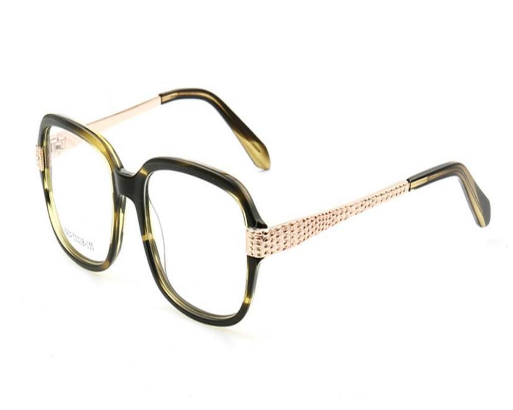 25b8eeaf3d MONGOTEN Retro Unisex Acetate Full Rim Clear Lens Myopia Eyewear ...