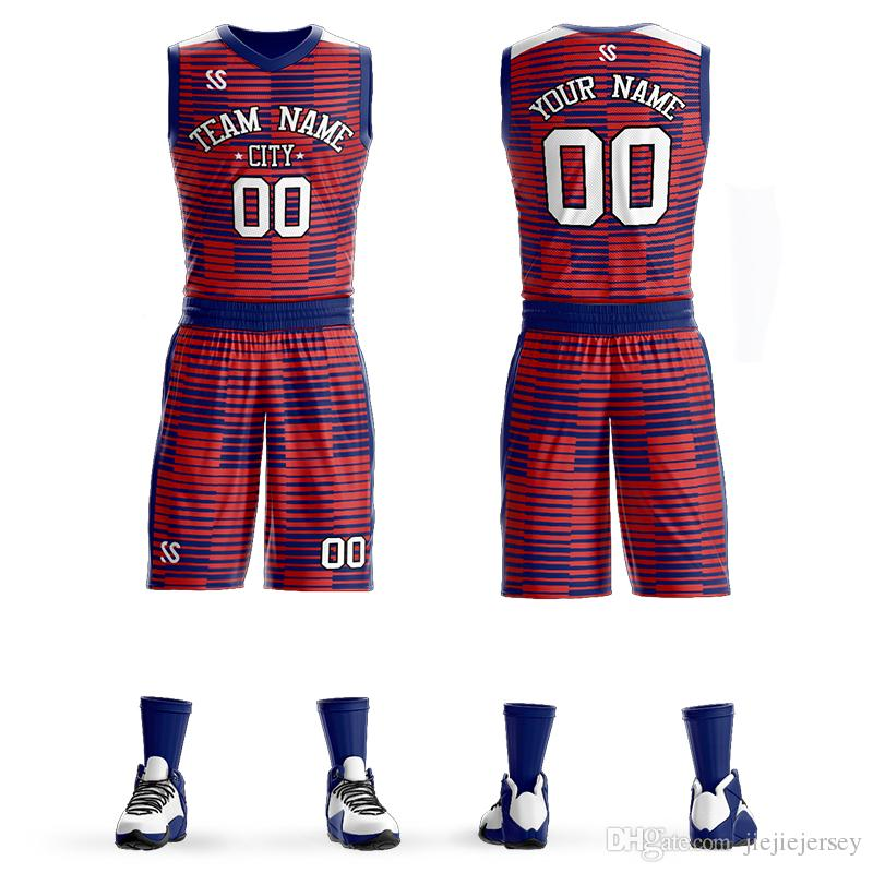 804195c03f5 2019 2019 New Basketball Uniforms Custom Kids Male Adult Ball Suit  Basketball Training Match Jerseys Customized Wholesale Printed Numbers From  Jiejiejersey