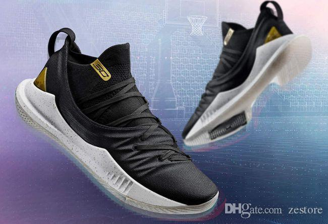 5661cc54f34 Stephen Curry 5 Basketball Shoes Mens Curry 5 Gold Championship MVP Championship  Finals Sports Training Sneakers Curry 5 Gold Championship Stephen Curry 5  ...