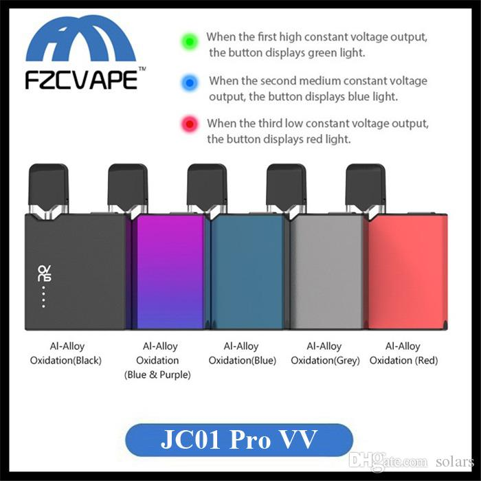 Authentic OVNS JC01 Pro Pod Starter Kit 400mAh Variable Voltage Battery with 1.0ml Refillable Cartridge for Thick Oil Vaping 100% Original
