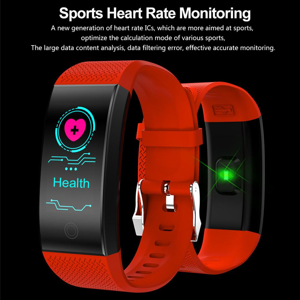 Smart Bracelet IP68 Waterproof Smart Band Heart Rate Sleep Monitor Sports  Passometer Fitness Tracker Bluetooth Smartwatch for Android IOS