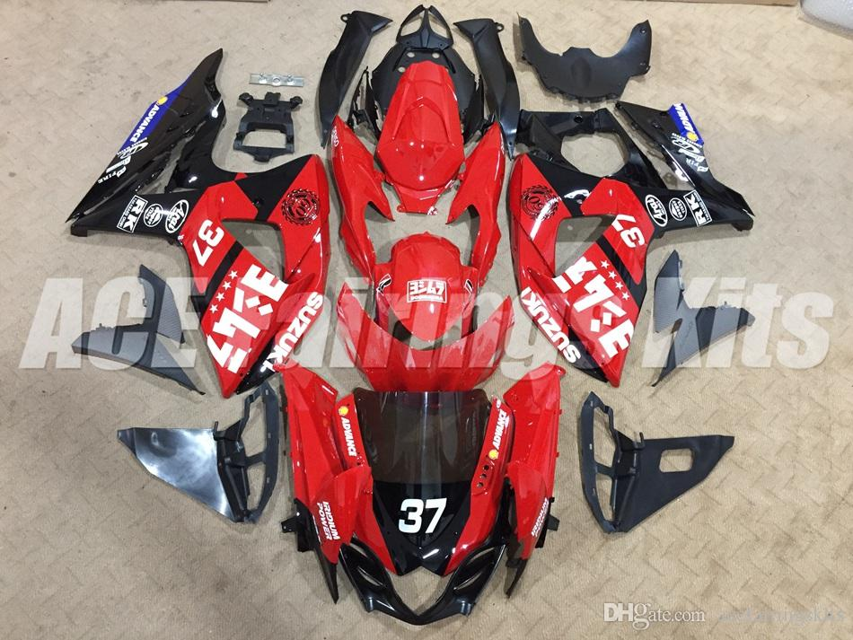 New ABS motorcycle Fairing For SUZUKI GSX R1000 GSXR1000 09 10 11 12 13 14 15 K9 GSXR-1000 GSXR 1000 2009 2010 2011 2012 2013 2015 red black