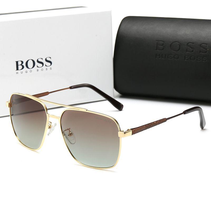Oversized Aviator Men Sunglasses Driving Luxury Designer Mens xBdCore