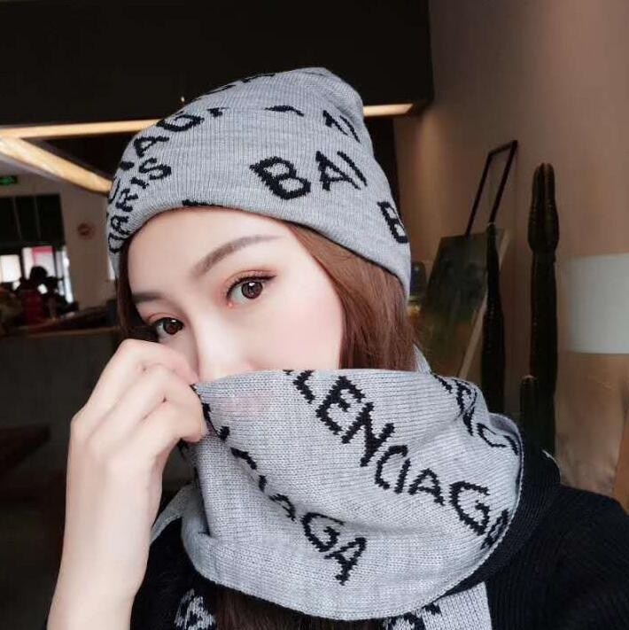 High Quality Hats And Scarves Sets Men  Women Designer Hat Scarf ... 0643ae5e84d