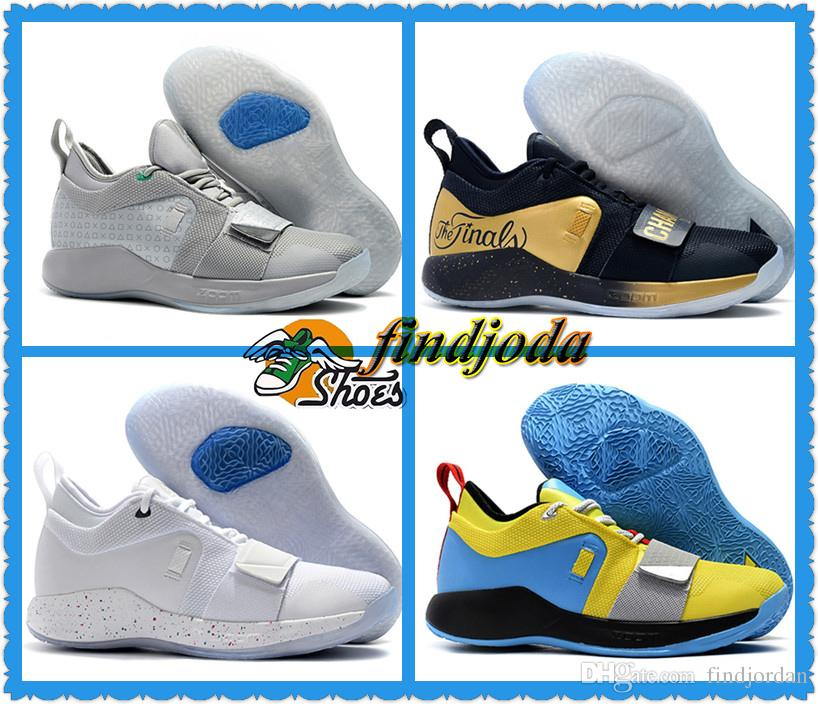 d938293e2ff 2019 PlayStation X PG 2.5 Wolf Grey Optic Yellow White Paul George 2.5  Champion Men Running Shoes For Good Quality Sports Sneakers From  Findjordan