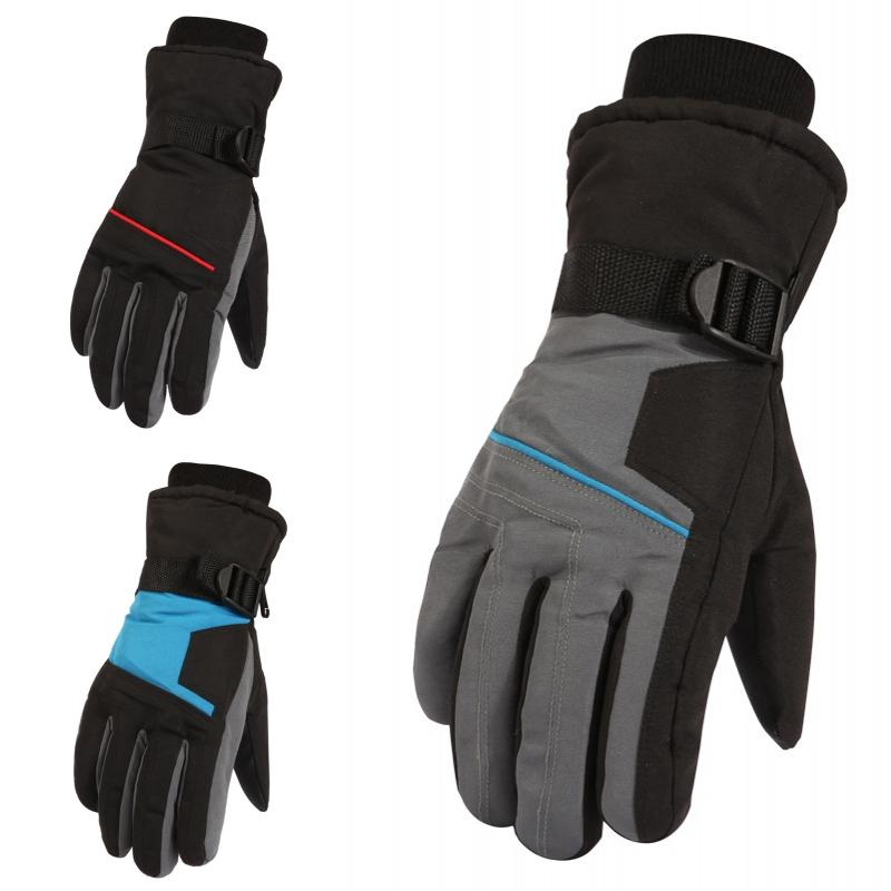 Fashion Style Gloves For Ski Men Women 2018 Winter Thicken Windproof Waterproof Outdoor Hiking Snowboard Climbing Snow Gloves In Many Styles Apparel Accessories