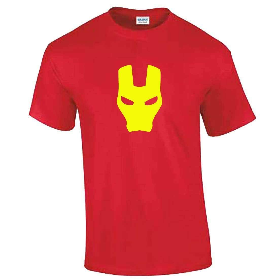 daff036a6 Ironman Mask TShirt Mens Boys Kids Iron Man Marvel Tony Stark Gift Present  Funny Gift Short ,Short Sleeve T Shirt , Cloth T Shirt Shirt Site From ...