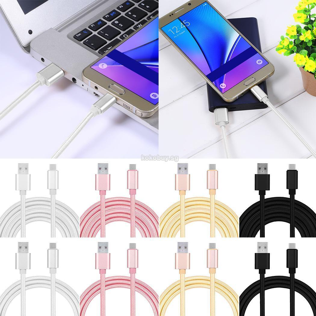 Nylon Data Cable Braided Cable for Android