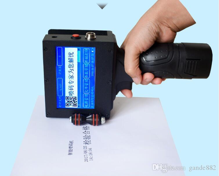 Multifunction Handheld Inkjet Printer Gun Handheld Inkjet Printer For  Expiry Date