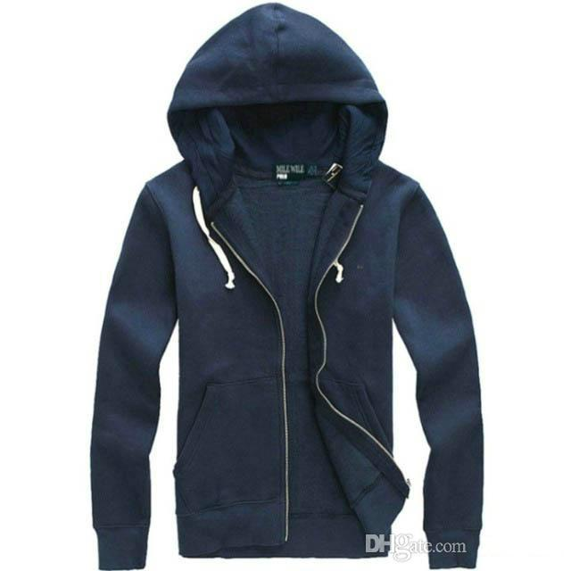 New Hot Sale Mens Polo Hoodies For Men And Sweatshirts Autumn Winter Casual With A Hood Sport Jacket Men's Hoodies
