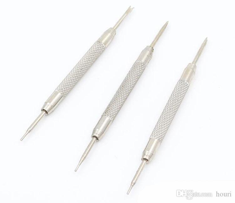 30PCS / الكثير جودة عالية الفولاذ المقاوم للصدأ ووتش الشريط بار الربيع وصلة دبوس مزيل أداة إصلاح - 0923