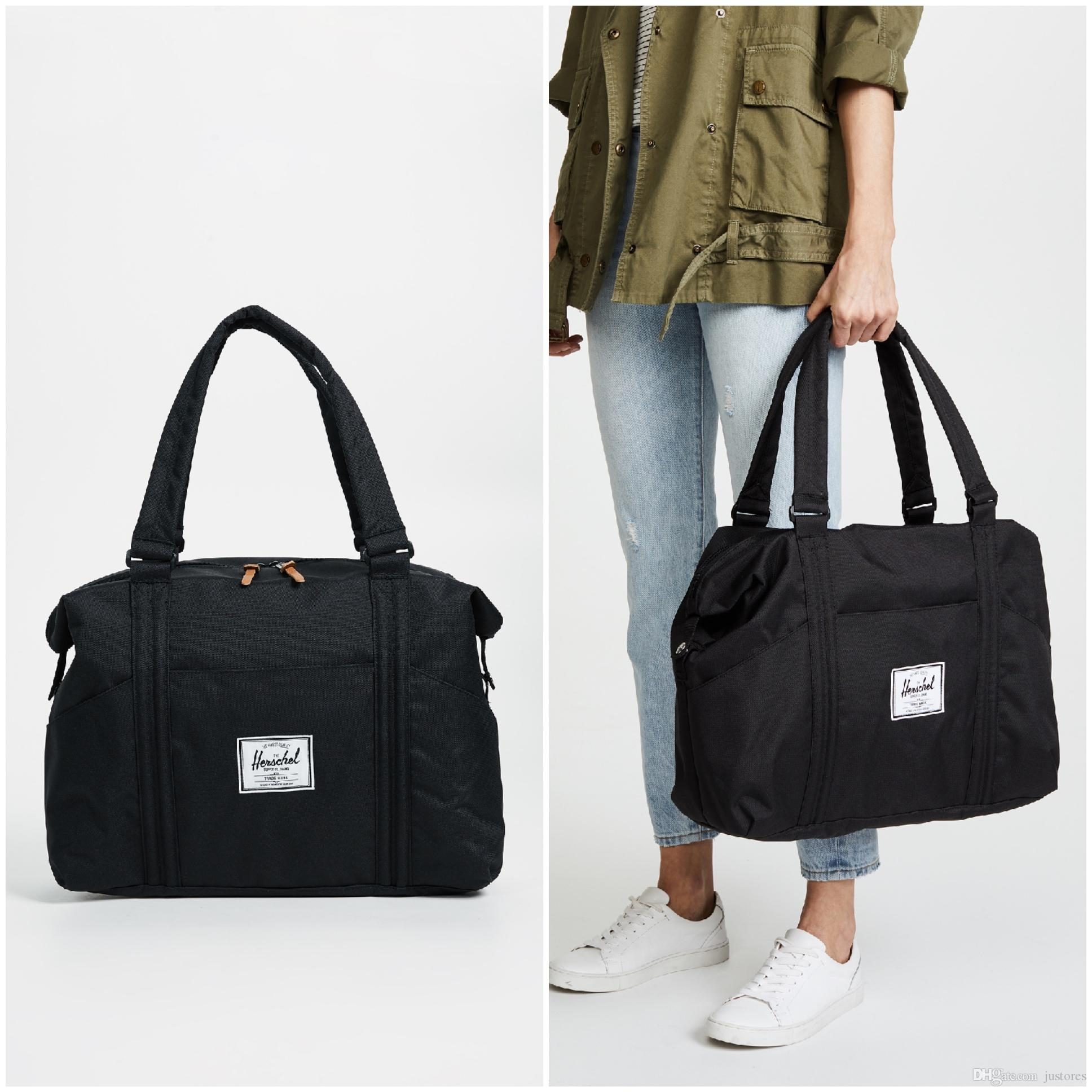 9a2f6eb62d7c 2019 Unisex Fashion Designer Bag Herschel Supply Co Strand Duffle Totes Bag  Man Handbag Luggage Travel Bags Woman Tote Bag Ladies Bags Leather Purses  From ...