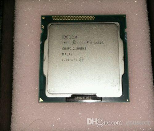 Processador de CPU Intel Core i5 3450S 2.80GHz Quad Core 6M 1155 CPU