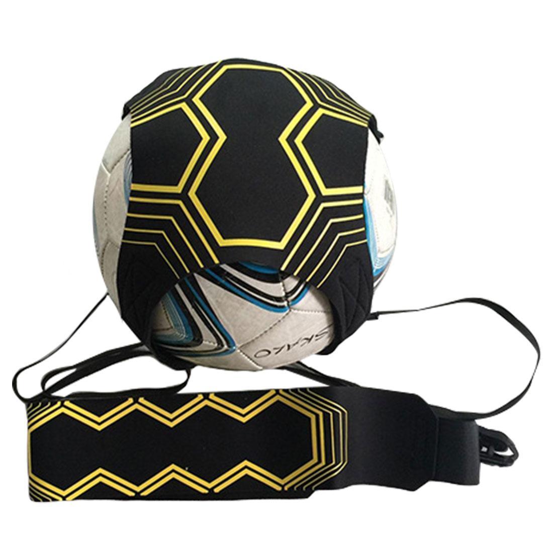 397c1cf0e97 Hot Sale Adjustable Football Trainer Sports Assistance 94cm Soccer Ball  Practice Belt Training Equipment Kick Accessories