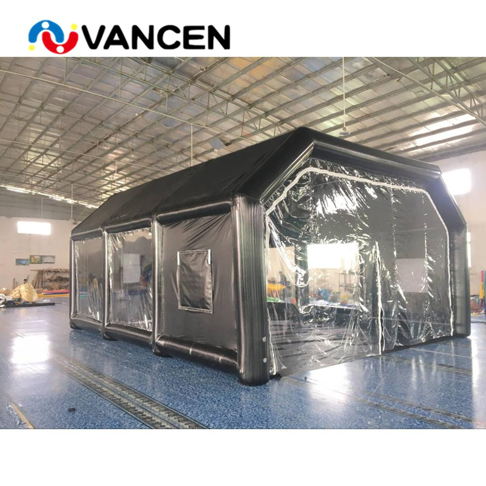 2019 Airtight Pvc Tarpaulin 8 7m Inflatable Paint Booth
