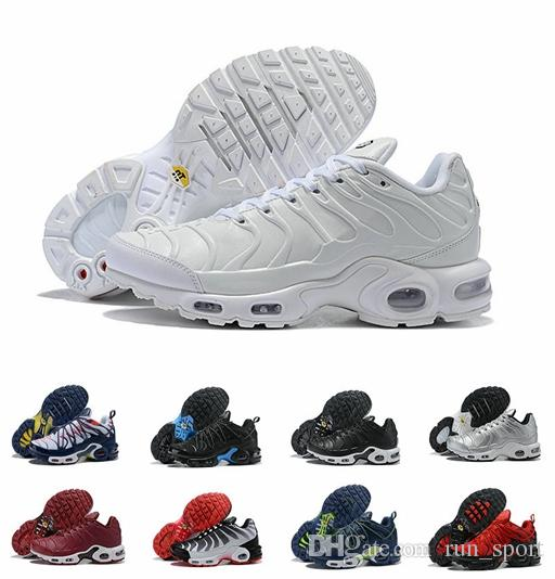 bf973ad6c2 2019 Original Tn Plus Drake Ice Blue Tns Running Shoes Sneakers Plus Tn SE  Champagnepapi 3M Yellow Black Mens Chaussures Size US 7 12 Running Shoes  For ...