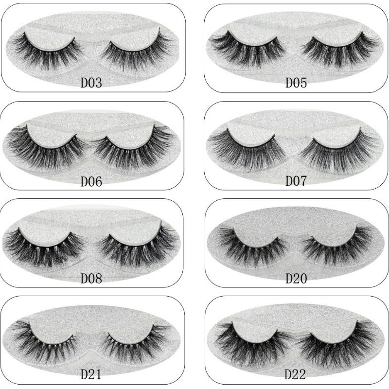 2d4a55680d0 Lash Mink Eyelashes 3D Mink Hair Lashes Wholesale 100% Real Mink Fur  Handmade Crossing Lashes Thick Lash 11 Styles New D19011701 Eyelash  Extensions London ...