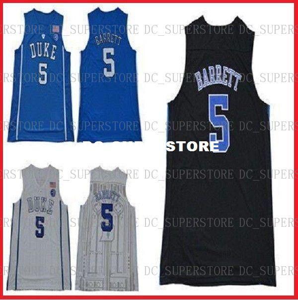 ccdcc7ba0cca Großhandel Günstige R.J. Barrett Jersey   5 Duke Blue Devils Genäht College  NCAA Basketball Jersey Hohe Qualität Von Dc superstore