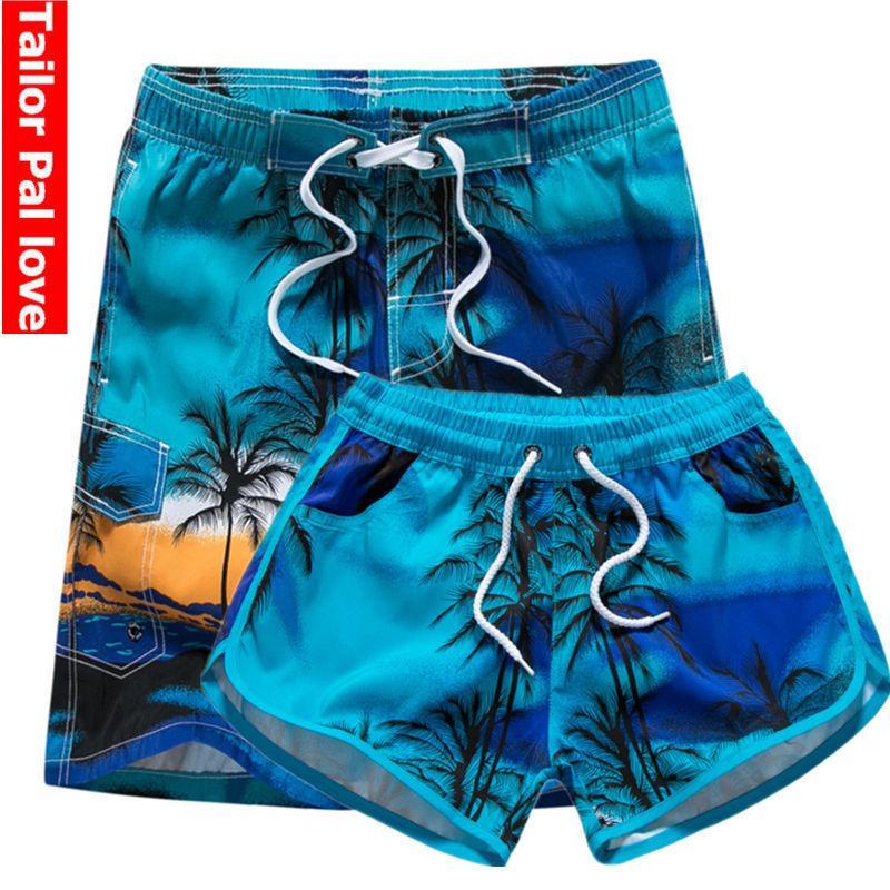 06cd3a37ac2 Couple Swimwear Board Shorts Women & Mens Boardshorts Bermuda Surf Swimming  Shorts Swim Trunks Beach Sports Suit Quick Dry Short C19040801