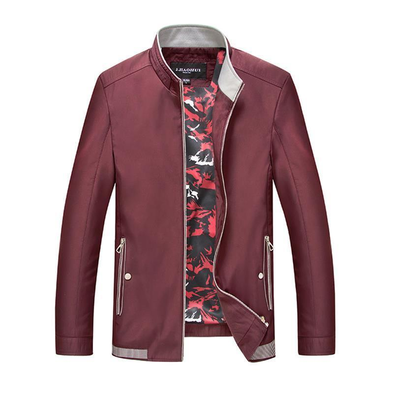 b7368c21721 Plus Size 9XL 8XL 7XL 6XL 5XL 4XL New 2018 Jacket Men Fashion Casual Loose Mens  Jacket Bomber Jacket Mens Jackets And Coats Ladies Leather Coats Leather ...