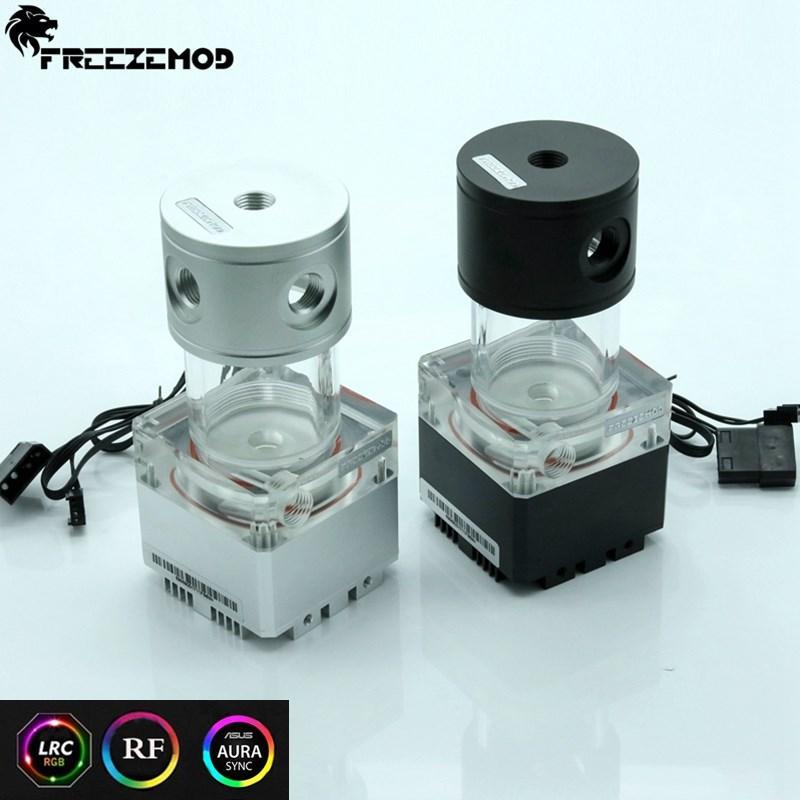 FREEZE MOD pump & reservoir kit Aluminum cover RGB control or AURA  synchronization,PUB-FS6MA-14