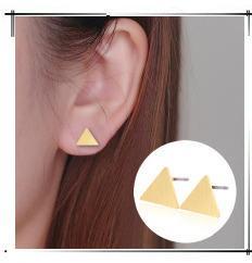 Shuangshuo Cute Little Fox Heads Stud Post Earrings 2018 Fox Stud Earring Cartoon Animal Jewelry Ear Nail for Women Ladies Kids