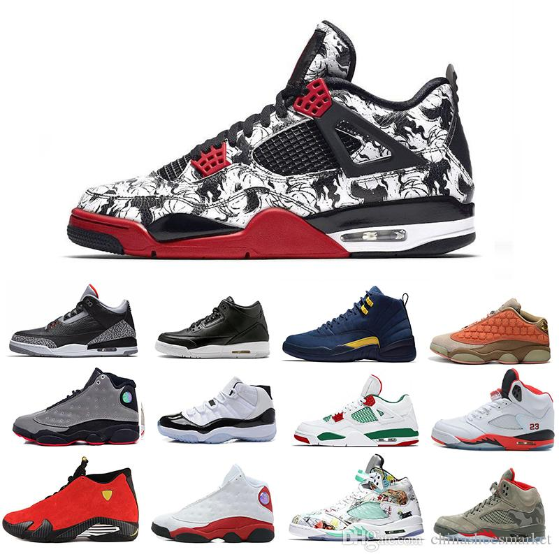 new styles 196f7 c411e 2019 11s Concord Gym Red 12s Flu Game 13s Cap And Gown Last Shot 14s Mens  Basketball Shoes 1s 4s 5s 6s Men Designer Trainers Sneakers