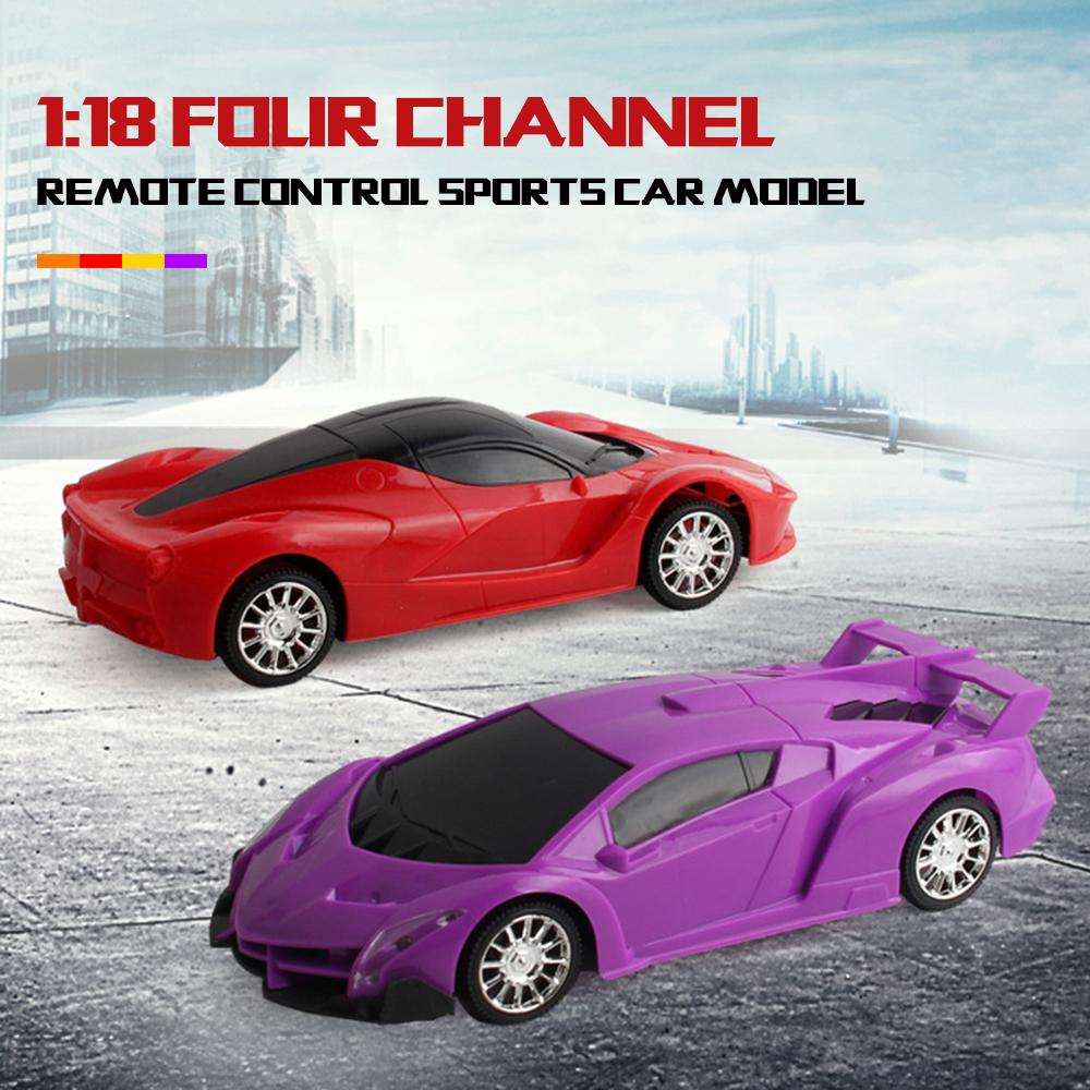 af0e9db1a82 1 18 Scale Simulation Super Racing RC Cars Speed Radio Remote Control  Sports Car Toys For Children Gift Rc Cars Sale Radio Controlled Toy Cars  From ...