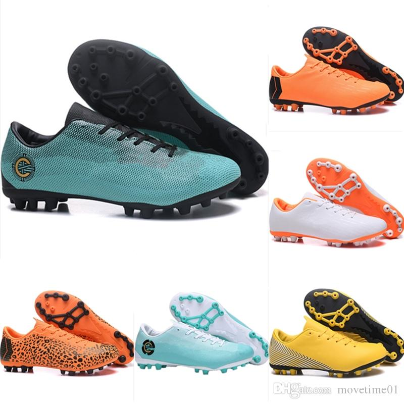 new style 69ebf bbde8 Kids Soccer Shoes Mercurial CR7 Superfly VI AG Children Football Boots  Magista Obra 2 Women Youth Soccer Cleats Cristiano Ronaldo
