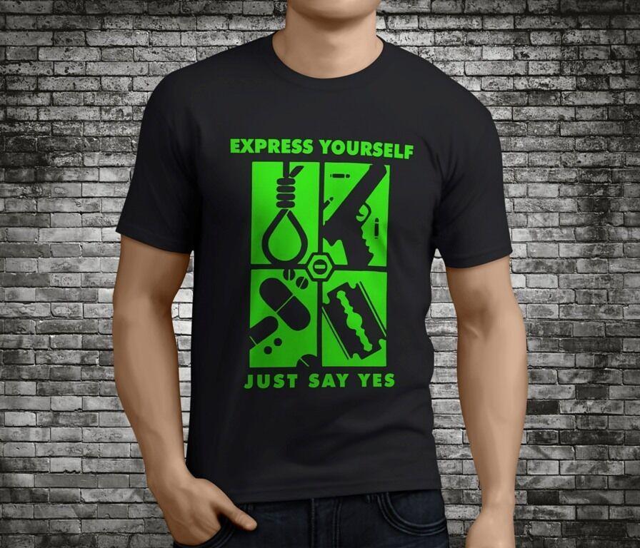e34af6db6 Compre El Popular Peter Steele Type O Negative Express Yourself Camiseta  Negra Tamaño S 3XLFunny Envío Gratis Unisex Camiseta Casual Top A  12.96  Del ...