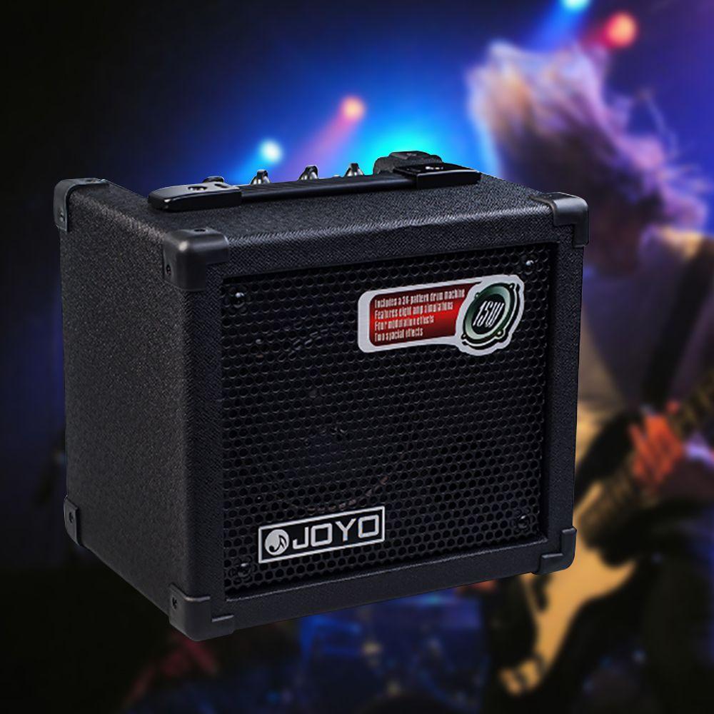 2019 original joyo dc 15 acoustic electric bass guitar amplifier multi effects stereo speaker. Black Bedroom Furniture Sets. Home Design Ideas