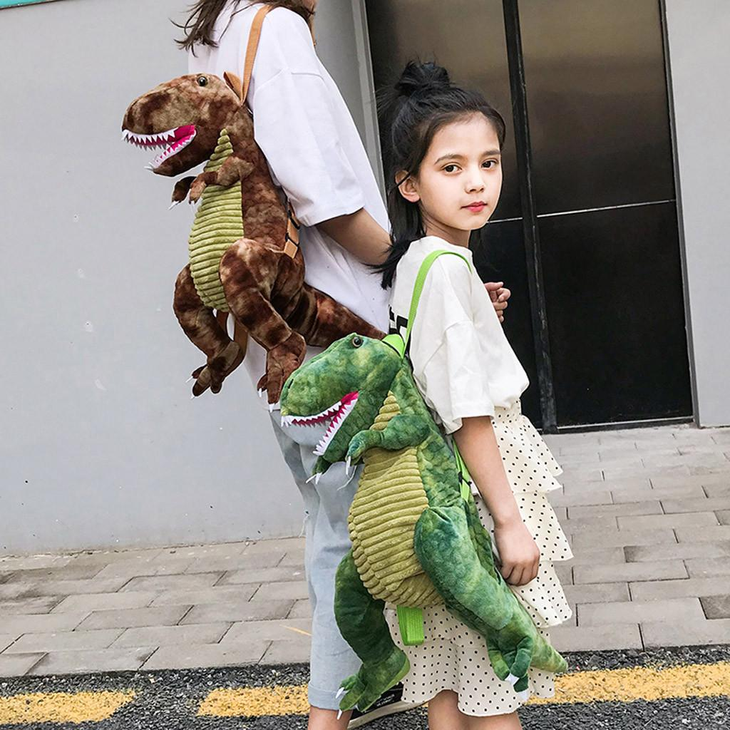 Women 3D Dinosaur Baby Bag Waterproof Children Backpack Kids Small Bag For Boys Girls Cute Animal Prints Toys Gifts #T3G