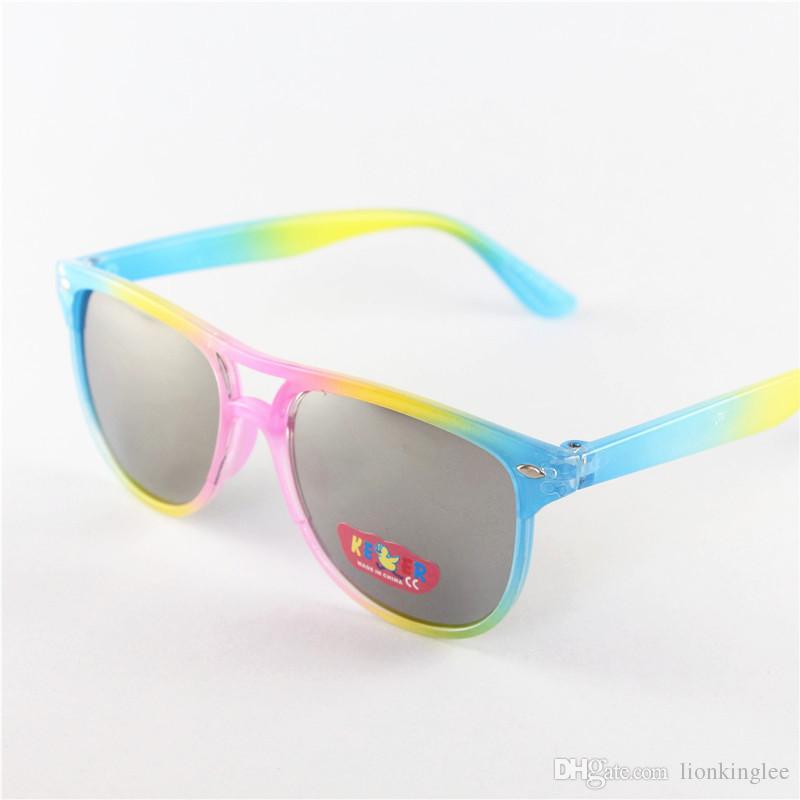 fab568a6e718 DHL Children Summer Sunglasses Fashion Boys Girls Eye Glasses Kids Outdoors Sport  Sunglasses Colorful Lense Baby Eyewear 236 Sports Sunglasses Cheap ...
