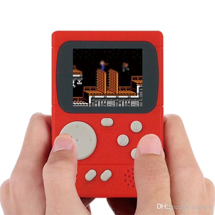 Hot Video Game Console 8 Bit Retro Pocket Handheld Game Player 198 Classic Games Best Gift for Child Nostalgic Player