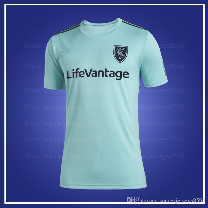 new product 8c23f a2d54 MLS Salt Lake 2019 Parley Jersey 2019 2020 Parley MLS Real men soccer  jersey 19 20 MLS Real women Parley jerseys size XXS-4XL