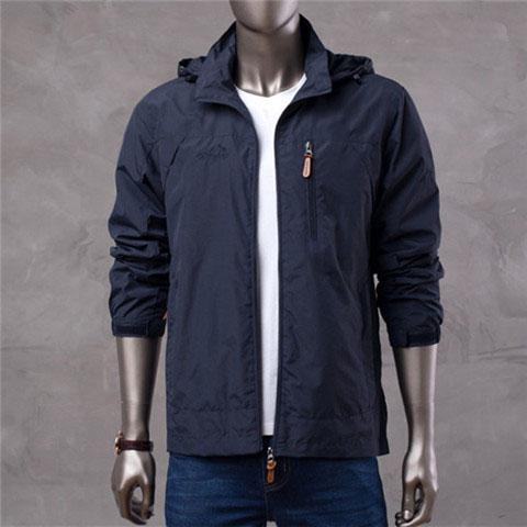 Brand High Quality Long Sleeve New Designer Mens Fashion Loose Windbreaker and Natural Colors for Casual Fashion with Size M-4XL B100128Q