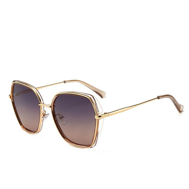 2d6805aa6e 2019 New Cat Eye Sunglasses Luxury Women Brand Big Frame Fashion ...