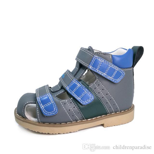 Bambino Ortopediche Bambini Sandalo Pelle Estive Vera In Calzature Per Scarpe TlKJcF1