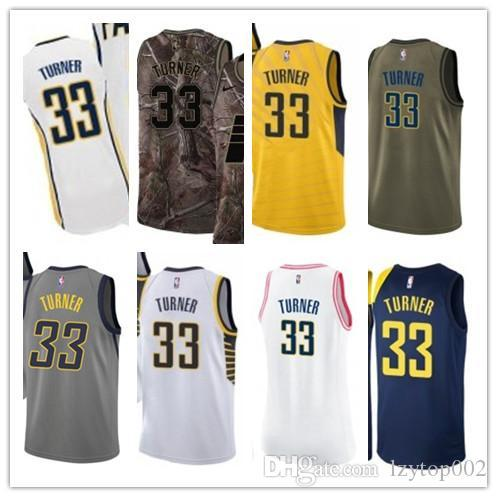 premium selection 30cbb a6a1a 2019 custom Men/WOMEN/youth Indiana Pacer jersey 33 Myles Turner basketball  jerseys free ship size s-xxl message name number