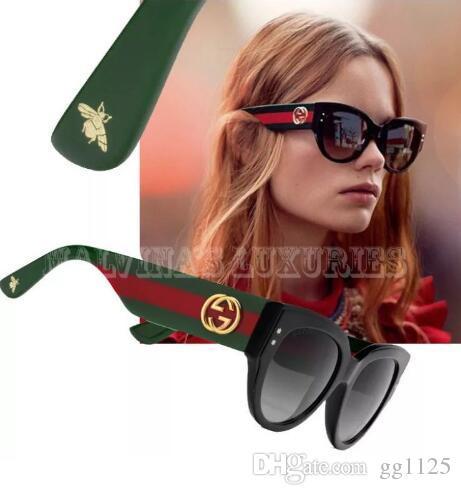 3b438fe6 Gafas de sol de diseñador Anteojos de marca Sombras para exteriores Marco  de PC Moda Dama clásica Gafas de sol de lujo Espejos para mujeres