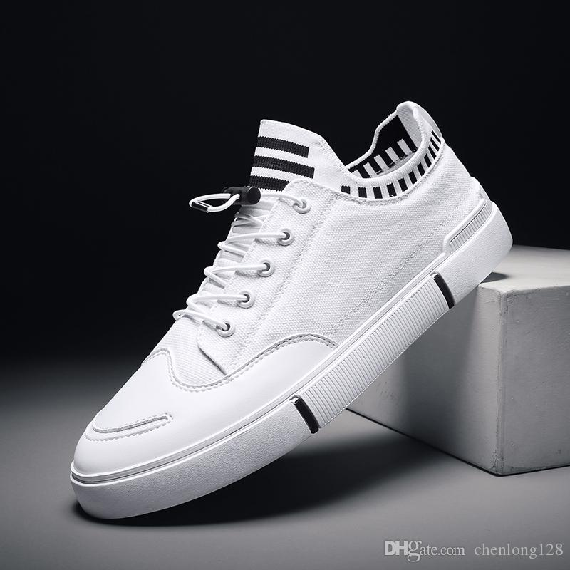 0248 New Trendy Designer embroidery tiger Platform Casual Flats Shoes Male high tops Wedding Prom Best shoes Good Sale