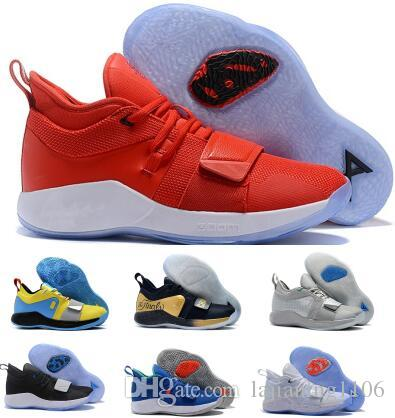 206f13ca28a6 Paul George Pg 2.5 Basketball Shoes Sneakers Men Red Fortnite Wolverine  Playstation Space Jam Moon Exploration Oklahoma PG 2 Zapatos Shoes East Bay  Shoes ...