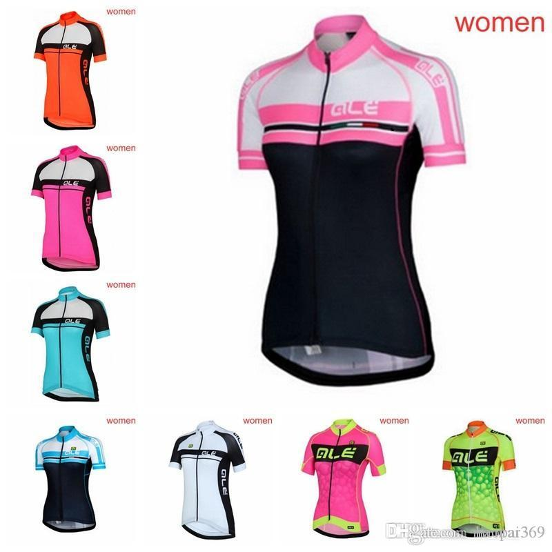 Bicycle 2018 ALE Summer Women Cycling Short Sleeves Jersey Shirt Ropa De  Ciclismo Bike Breathable Quick-drying H1801F ALE Cycling Jersey Mtb Jersey  Ropa ... 47d68ef45